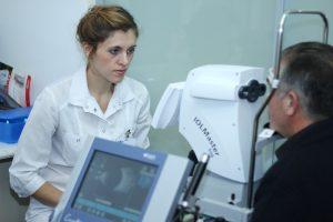 Исследование на оптическом биометре IOL Master