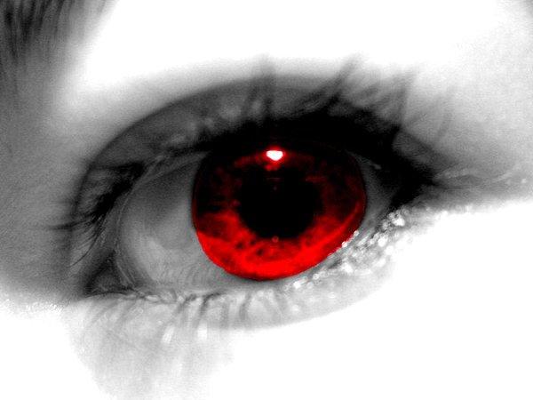 Красные глаза картинки - df5ce