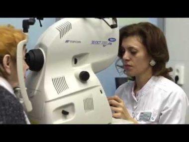 Лазерное лечение глаукомы